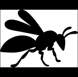 Wasp svg #20, Download drawings