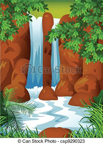 Wasserfall clipart #13, Download drawings