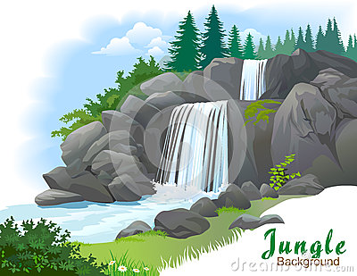 Wasserfall clipart #9, Download drawings