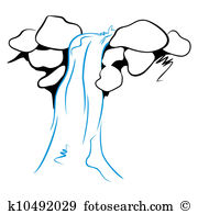 Wasserfall clipart #1, Download drawings