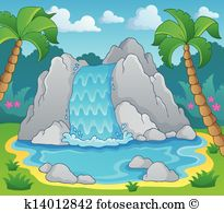Wasserfall clipart #3, Download drawings