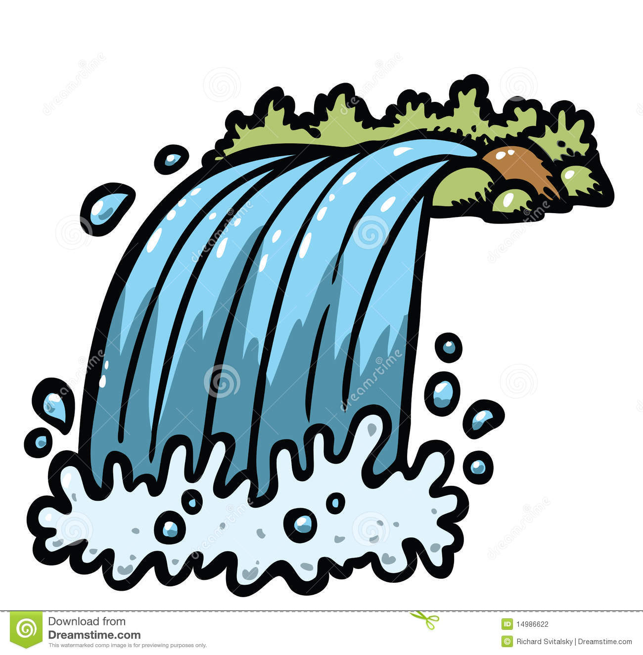 Wasserfall clipart #17, Download drawings