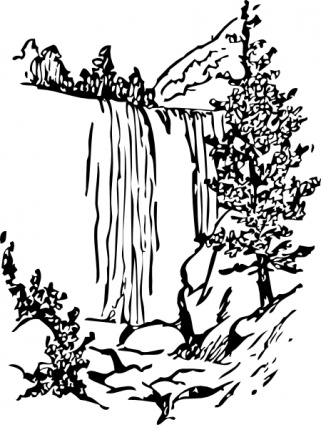 Wasserfall clipart #8, Download drawings