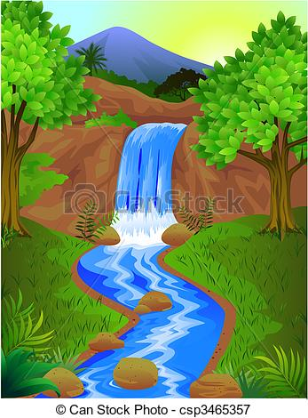 Wasserfall clipart #5, Download drawings