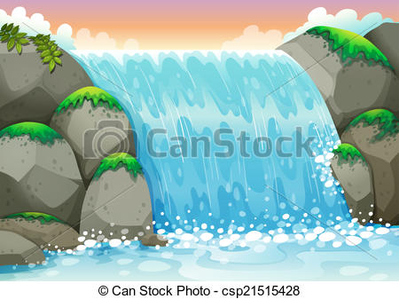 Wasserfall clipart #12, Download drawings