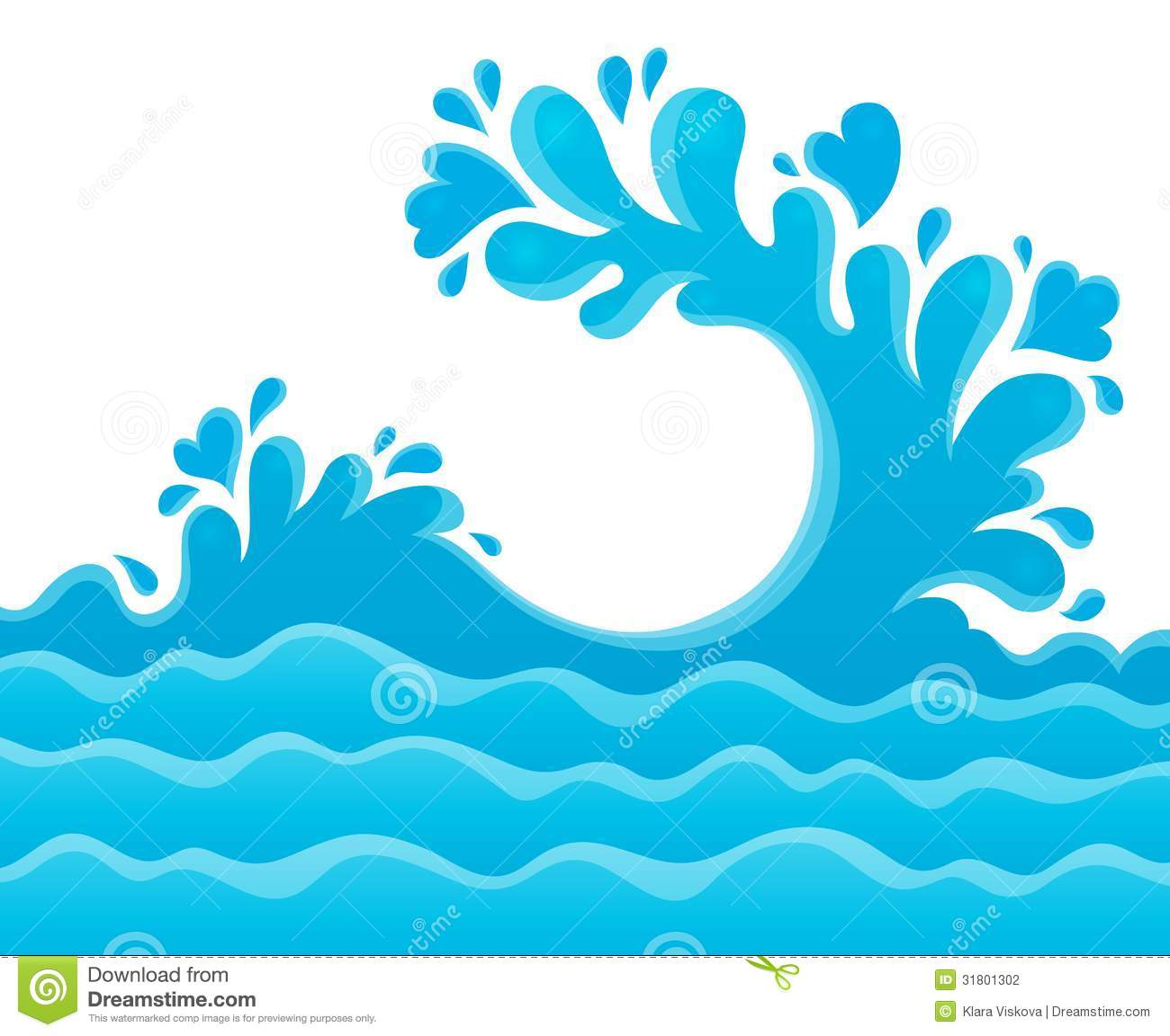 Water clipart #1, Download drawings