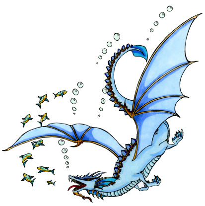 Water Dragon clipart #18, Download drawings