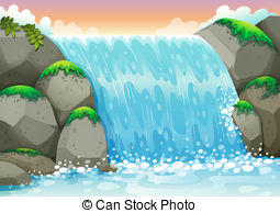 Waterfall clipart #13, Download drawings