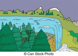 Waterfall clipart #9, Download drawings