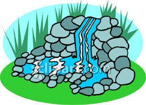 Waterfall clipart #4, Download drawings
