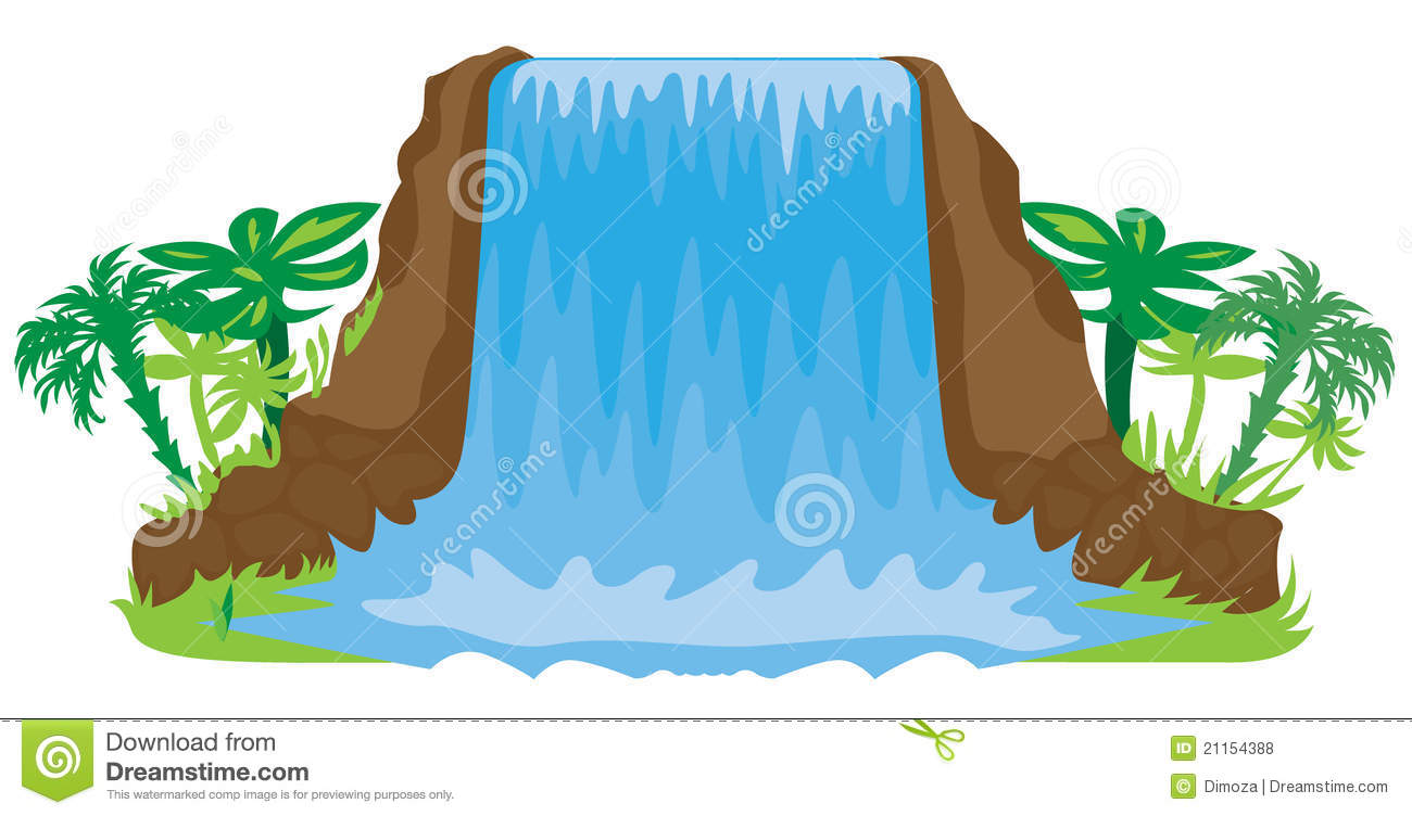 Waterfall clipart #15, Download drawings