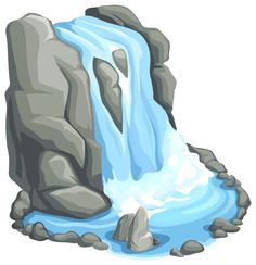 Waterfall clipart #17, Download drawings