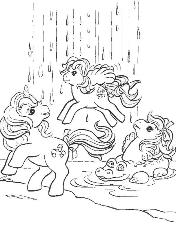 Waterfall coloring #6, Download drawings