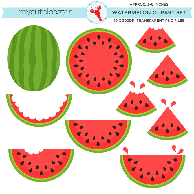 Watermelon clipart #2, Download drawings