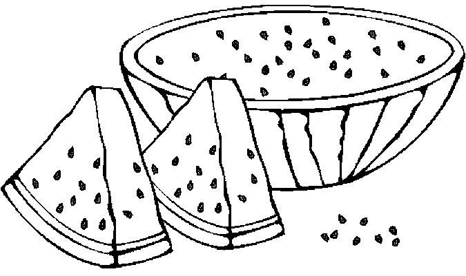 Watermelon coloring #3, Download drawings
