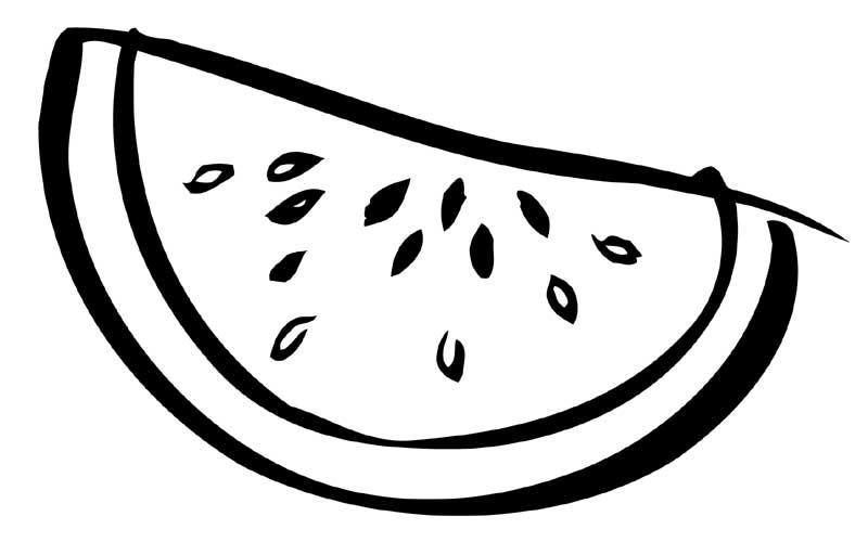 Watermelon coloring #18, Download drawings
