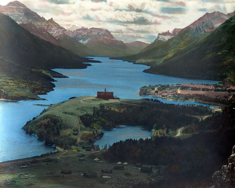 Waterton Lakes National Park svg #14, Download drawings