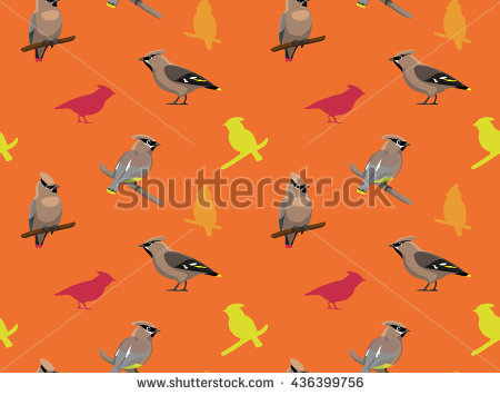 Waxwing clipart #8, Download drawings