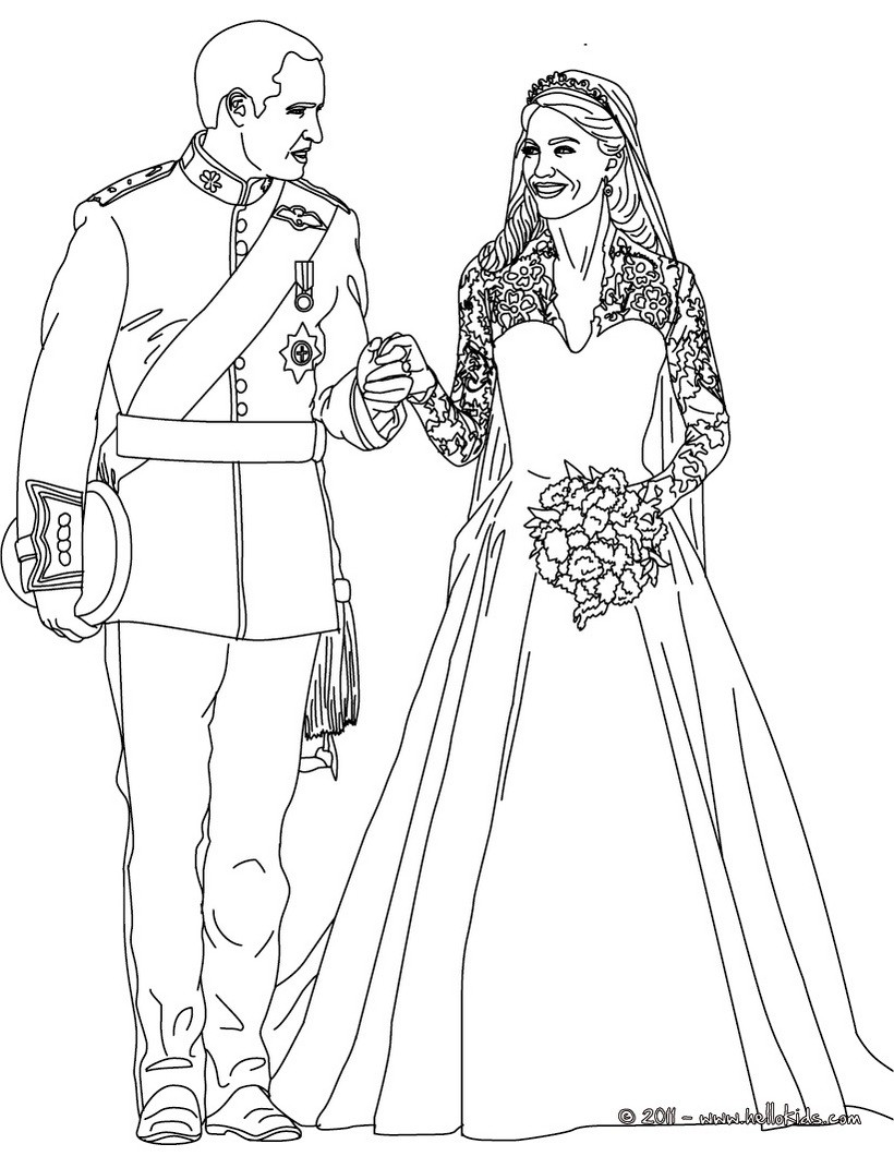 Wedding Dress coloring #2, Download drawings