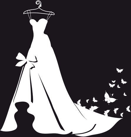 White Dress svg #15, Download drawings