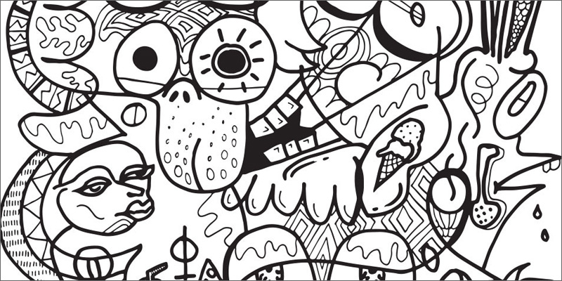 Weed coloring #14, Download drawings