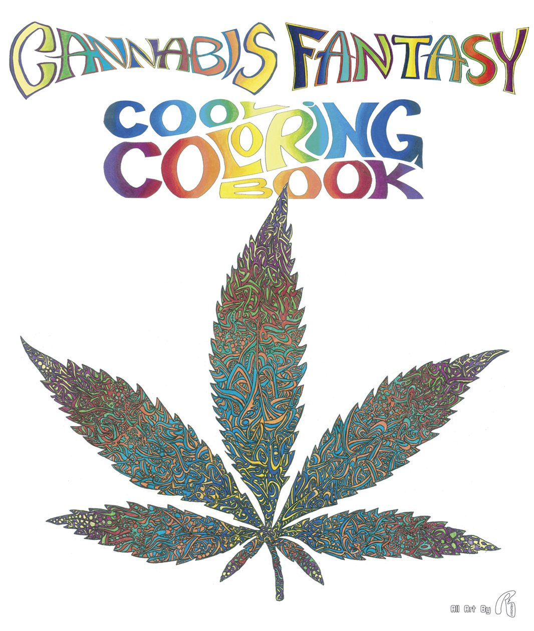 Cannabis coloring #16, Download drawings