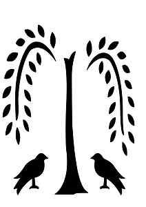 Weeping Willow svg #11, Download drawings