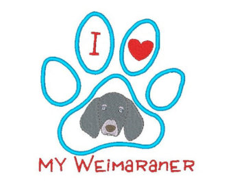 Weimeraner svg #6, Download drawings