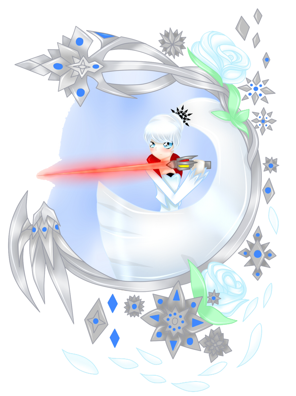 Weiss Schnee clipart #1, Download drawings
