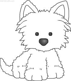 West Highland White Terrier svg #7, Download drawings