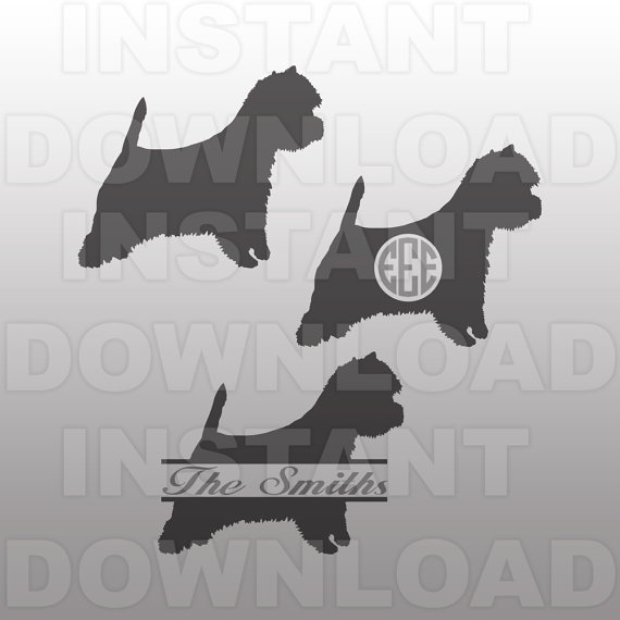 West Highland White Terrier svg #16, Download drawings