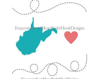 West Virginia svg #4, Download drawings