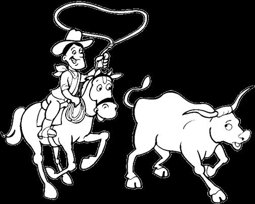 Western coloring #3, Download drawings
