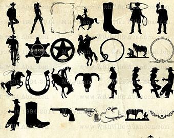 Western svg #12, Download drawings