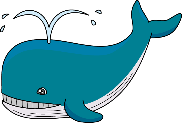 Whale clipart #4, Download drawings