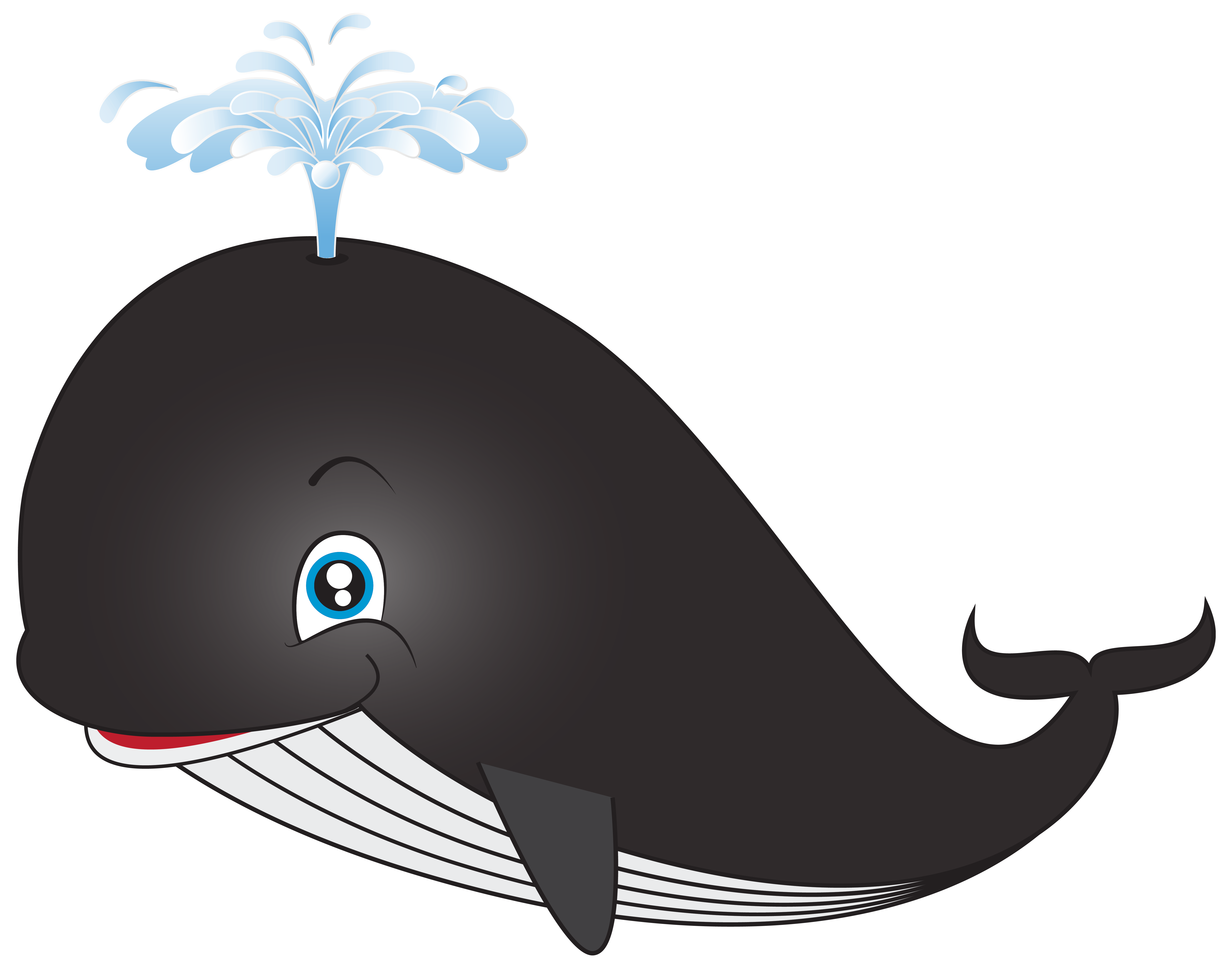 Whale clipart #2, Download drawings