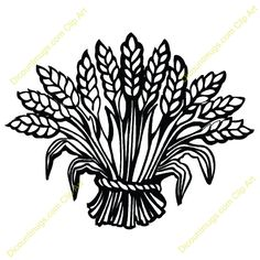 Wheat clipart #4, Download drawings