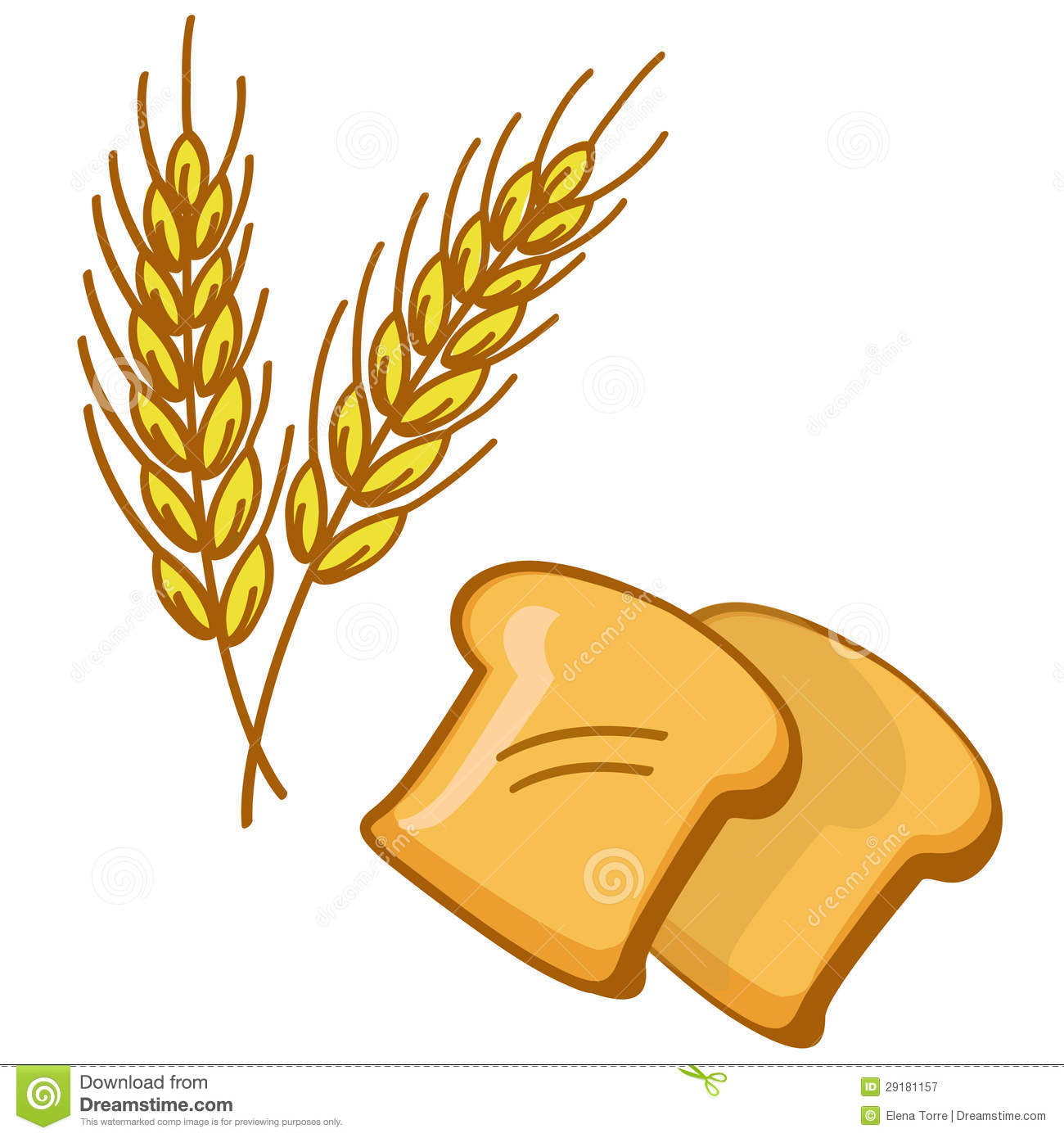 Wheat clipart #5, Download drawings