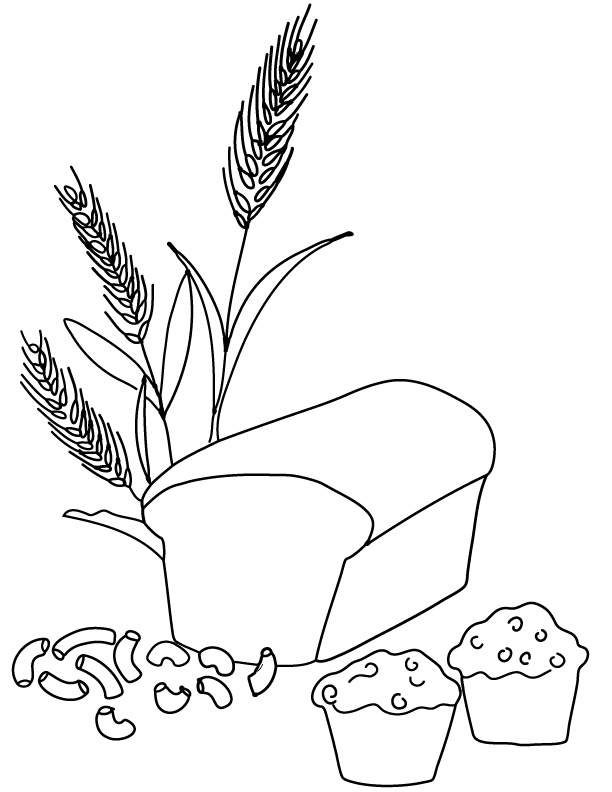 Grain coloring #2, Download drawings