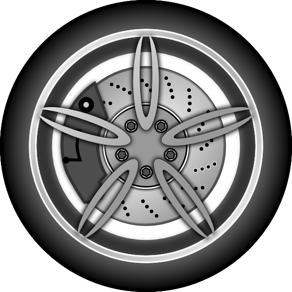 Wheel clipart #6, Download drawings