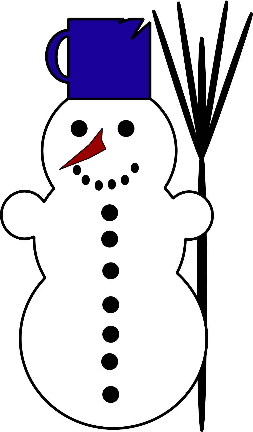 White clipart #9, Download drawings