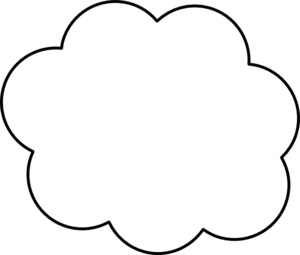 White Cloud clipart #14, Download drawings