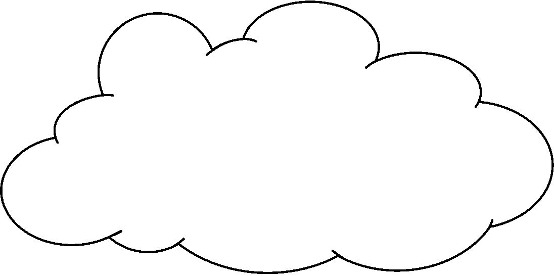 White Cloud clipart #7, Download drawings