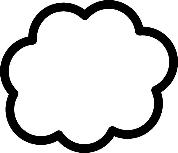 White Cloud clipart #9, Download drawings