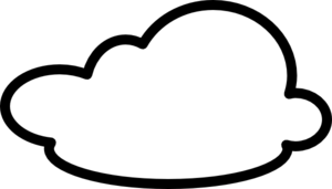 White Cloud clipart #11, Download drawings