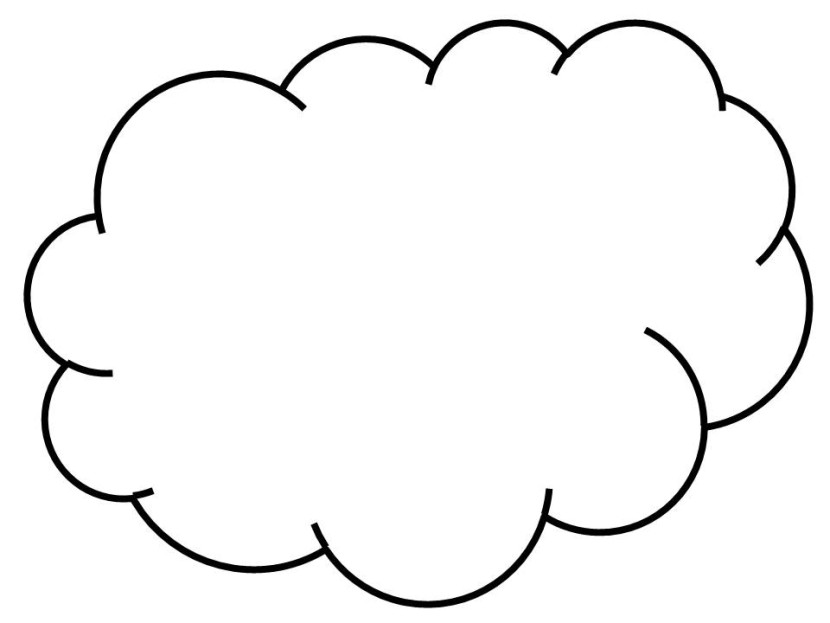 White Cloud clipart #12, Download drawings