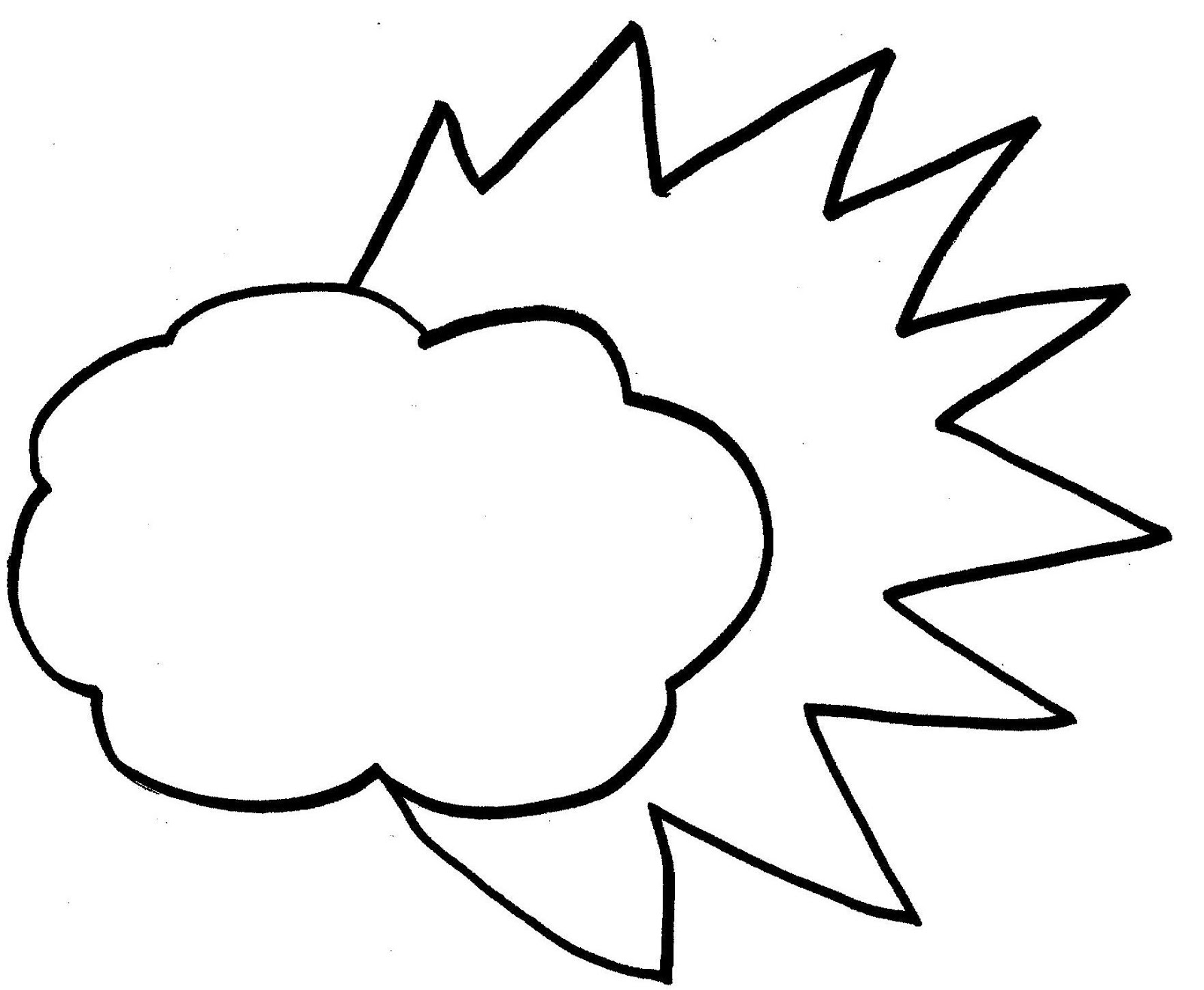 White Cloud coloring #20, Download drawings