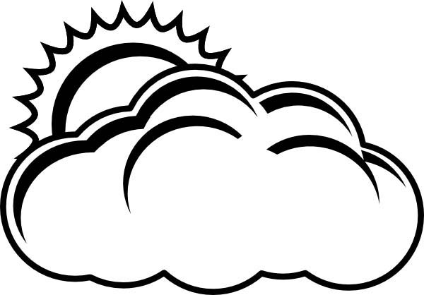 White Cloud coloring #10, Download drawings