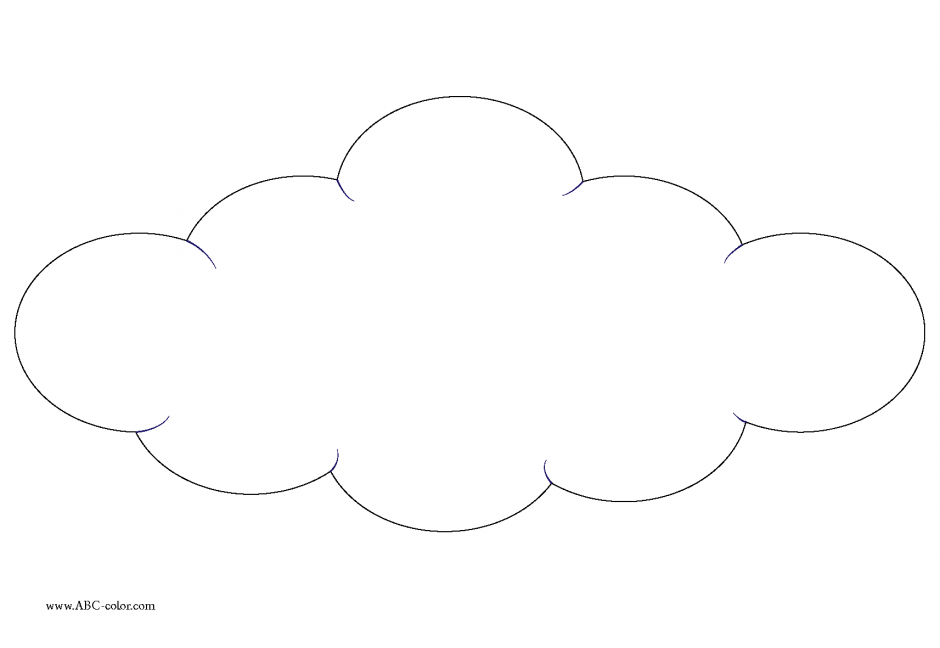 White Cloud coloring #3, Download drawings
