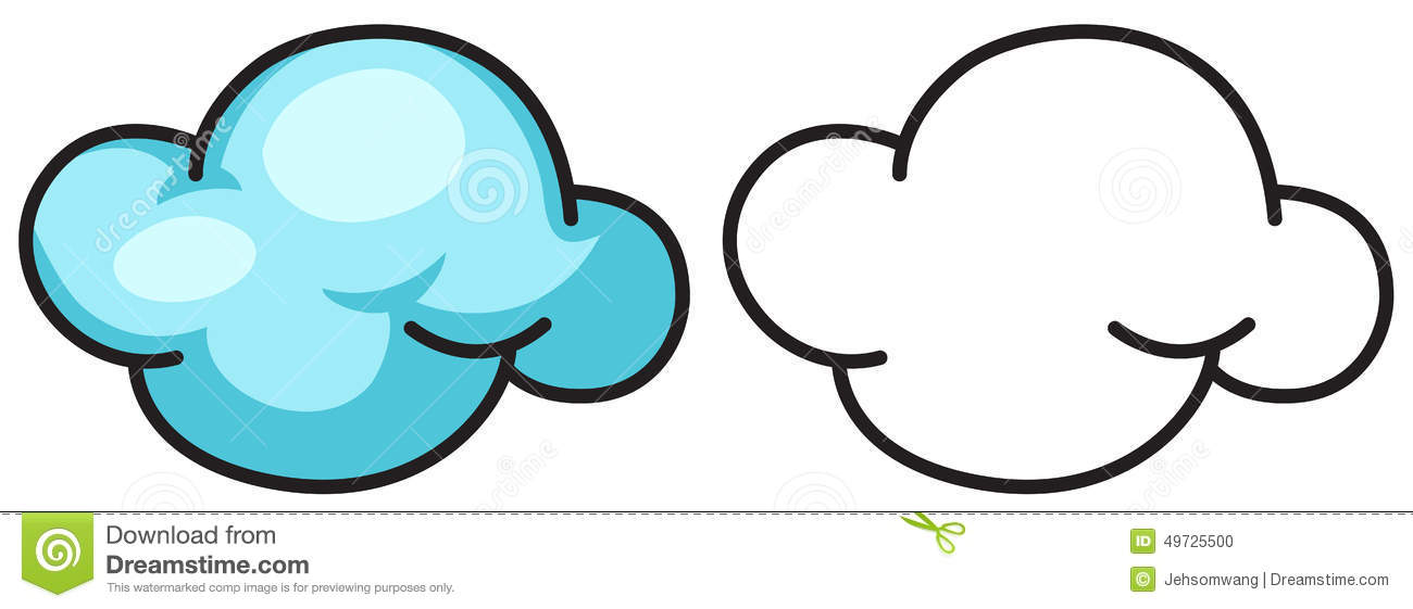 White Cloud coloring #6, Download drawings